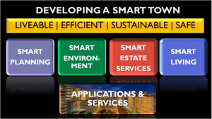 Developing a smart town