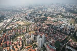 Singapore - aerial view