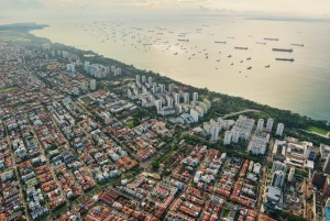 Singapore ECP - aerial view