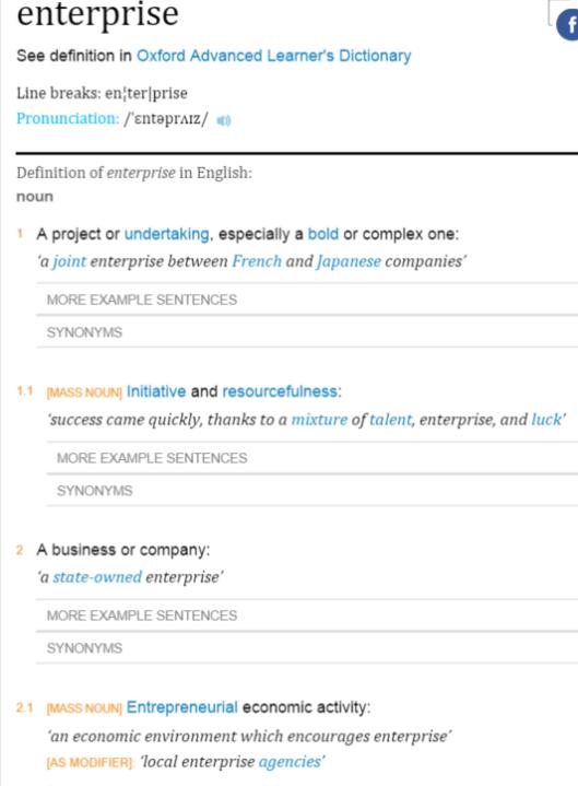 Enterprise definition